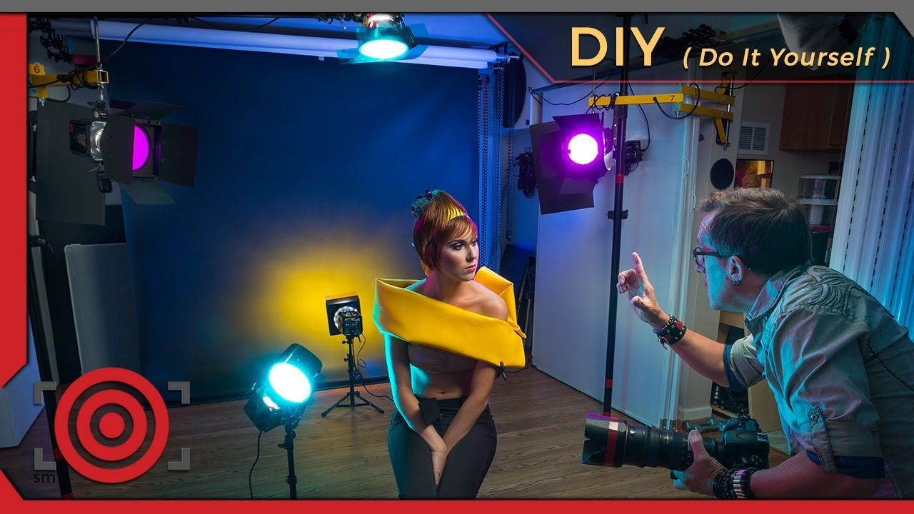 Building Photography Tips home photography studio setup - tips for building a diy home