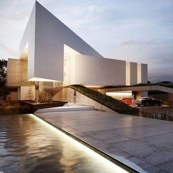Portfolios creato arquitectos modern elevations - Arquitectos casas modernas ...