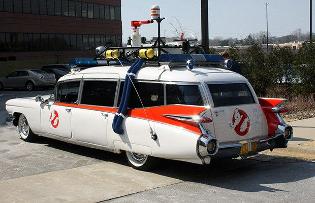 GhostBusters: Ecto-1 -1959 Cadillac Miller-Meteor - The 50 Coolest Movie Cars | Complex