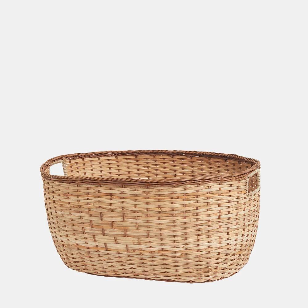 Tuscan Rattan Laundry Basket Large Basket Large Baskets Tuscan