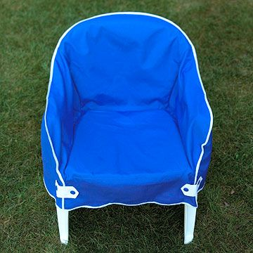 Quick Easy Garden Furniture Makeovers Furniture Makeover Plastic Patio Chairs Plastic Chair Covers