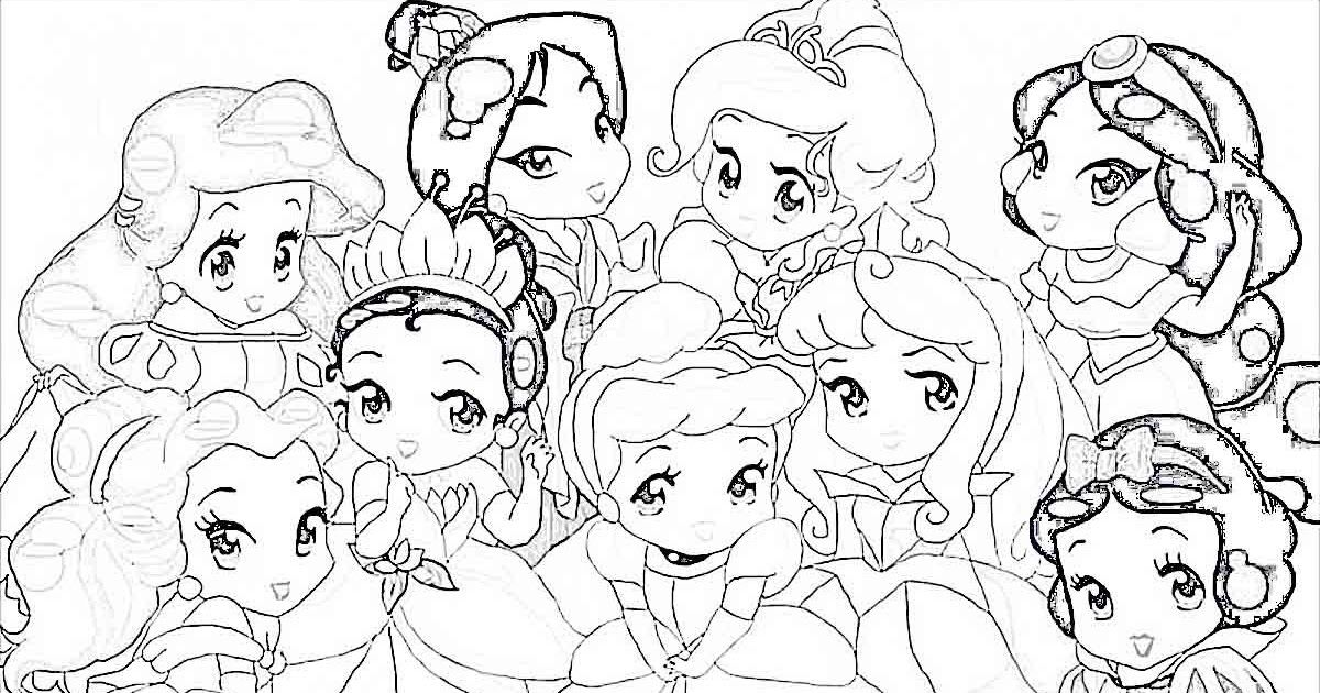 Baby Disney Princess Drawing Baby Disney Pr Disney Princess Disney Baby Princess Co Disney Princess Drawings Disney Princess Colors Cinderella Coloring Pages
