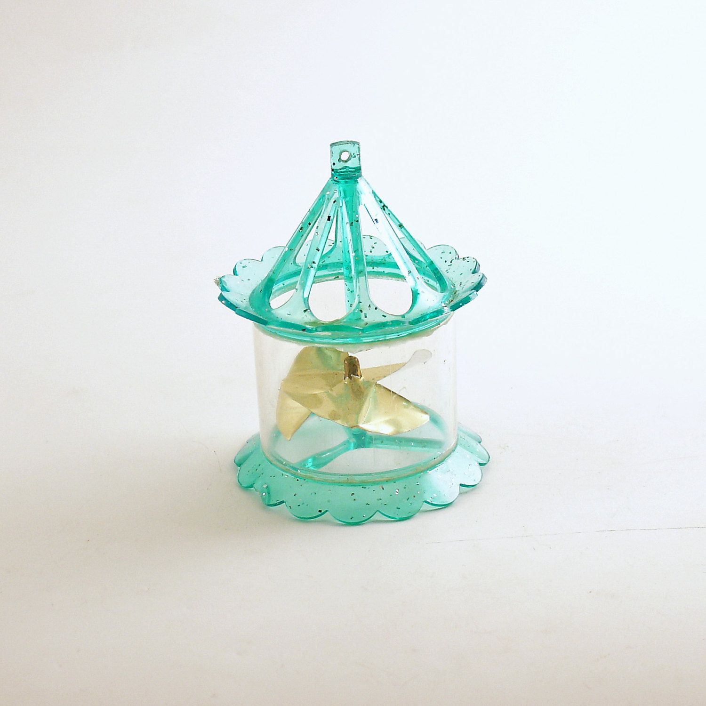 Vintage Christmas Ornament Twinkler Spinner Mid Century ...