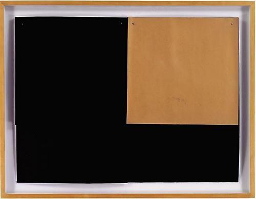Dorothea Rockburne, Two, 1970