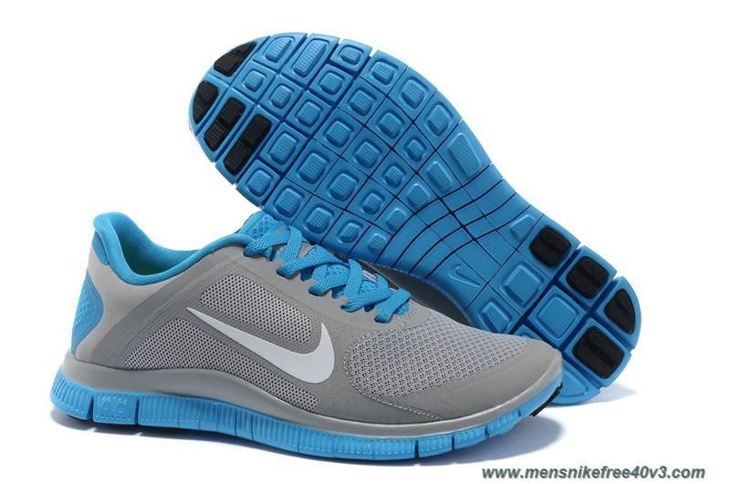 pretty nice fd4bf 62285 Discounts Womens 579959-109 Nike Free 4.0 V3 Stealth Reflective Silver Blue  Glow