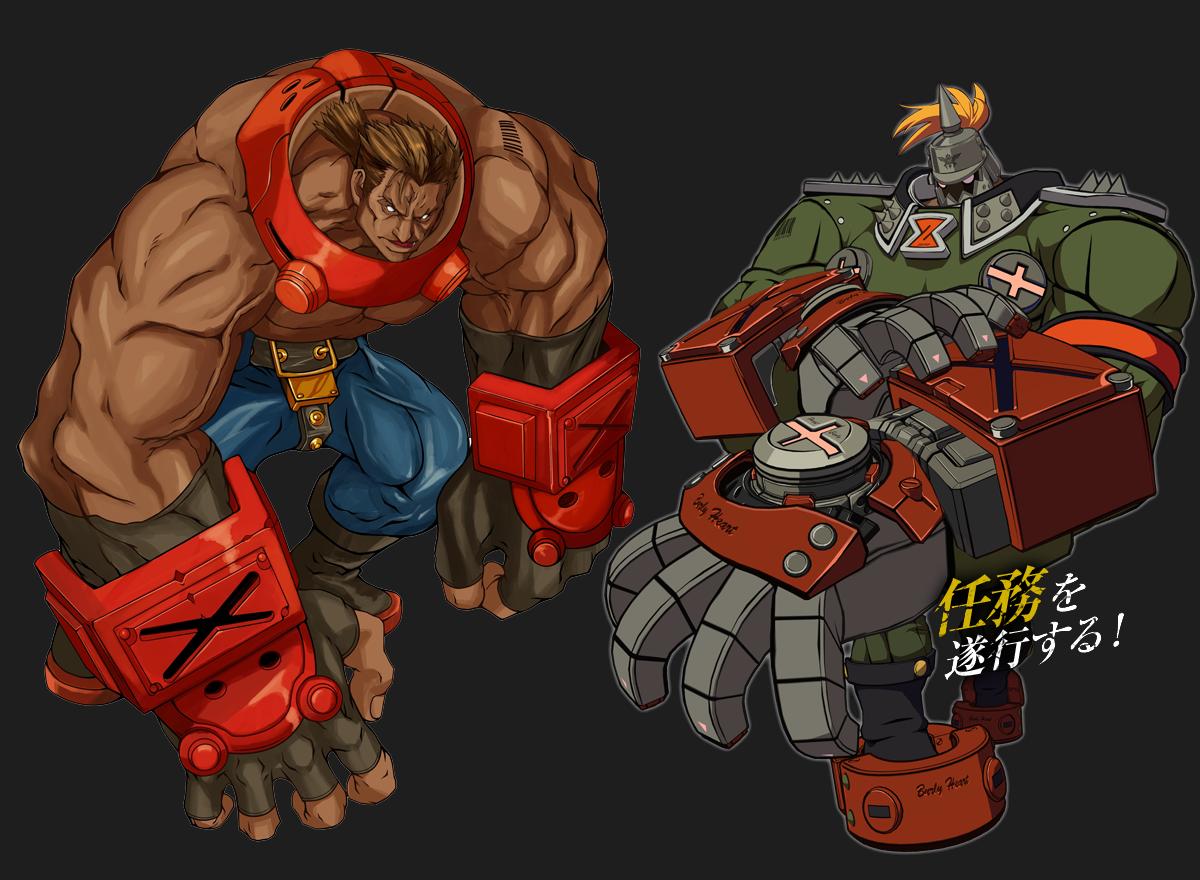 Potemkin | character design | Guilty gear, Guilty gear xrd