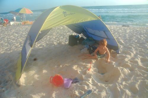 wholesale dealer a1076 15344 Amazon.com : Shade Shack Instant Pop Up Family Beach Tent ...