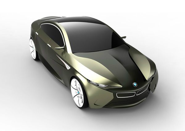 The BMW i-FD Concept designed by designer Feliciano Ruy-Diaz.The BMW i-FD features an elevated hood with recessed headlamps and hard lines throughout the frame, creating a paneling effect that adds to the stylish and imposing quality of the car.