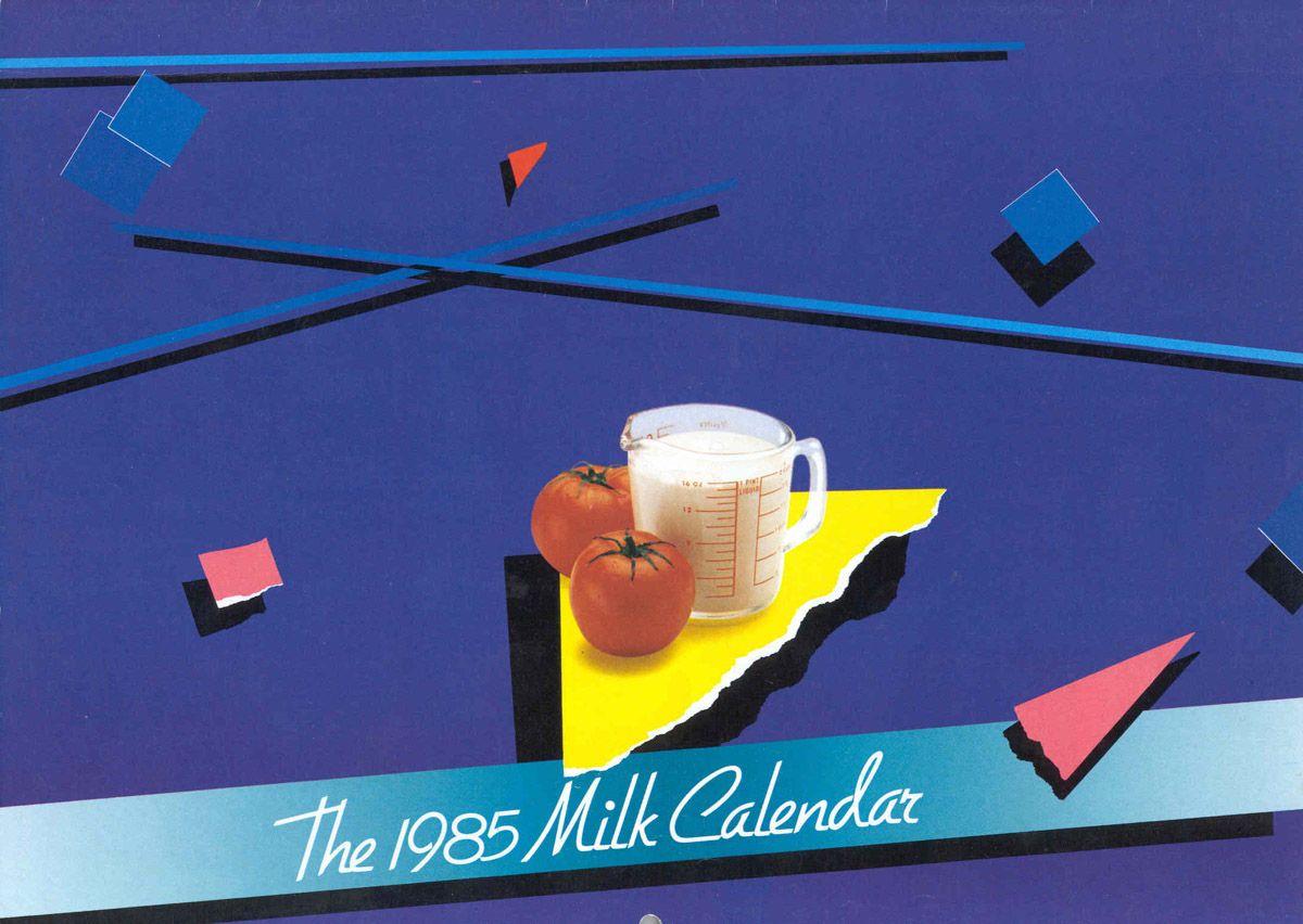 Milk Calendar 1985 Calendar Recipes