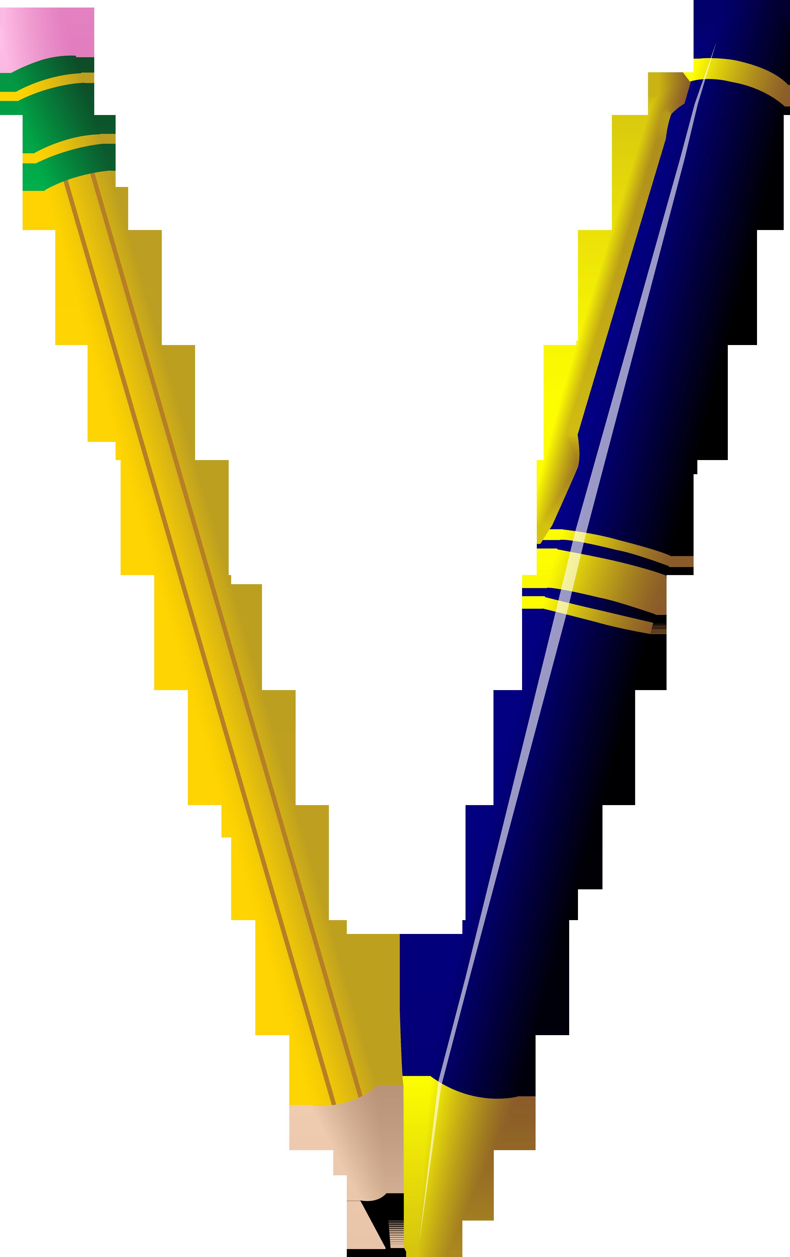 Pencil And Pen Duo Free Clip Art Clip Art Fine Writing Instruments Free Clip Art