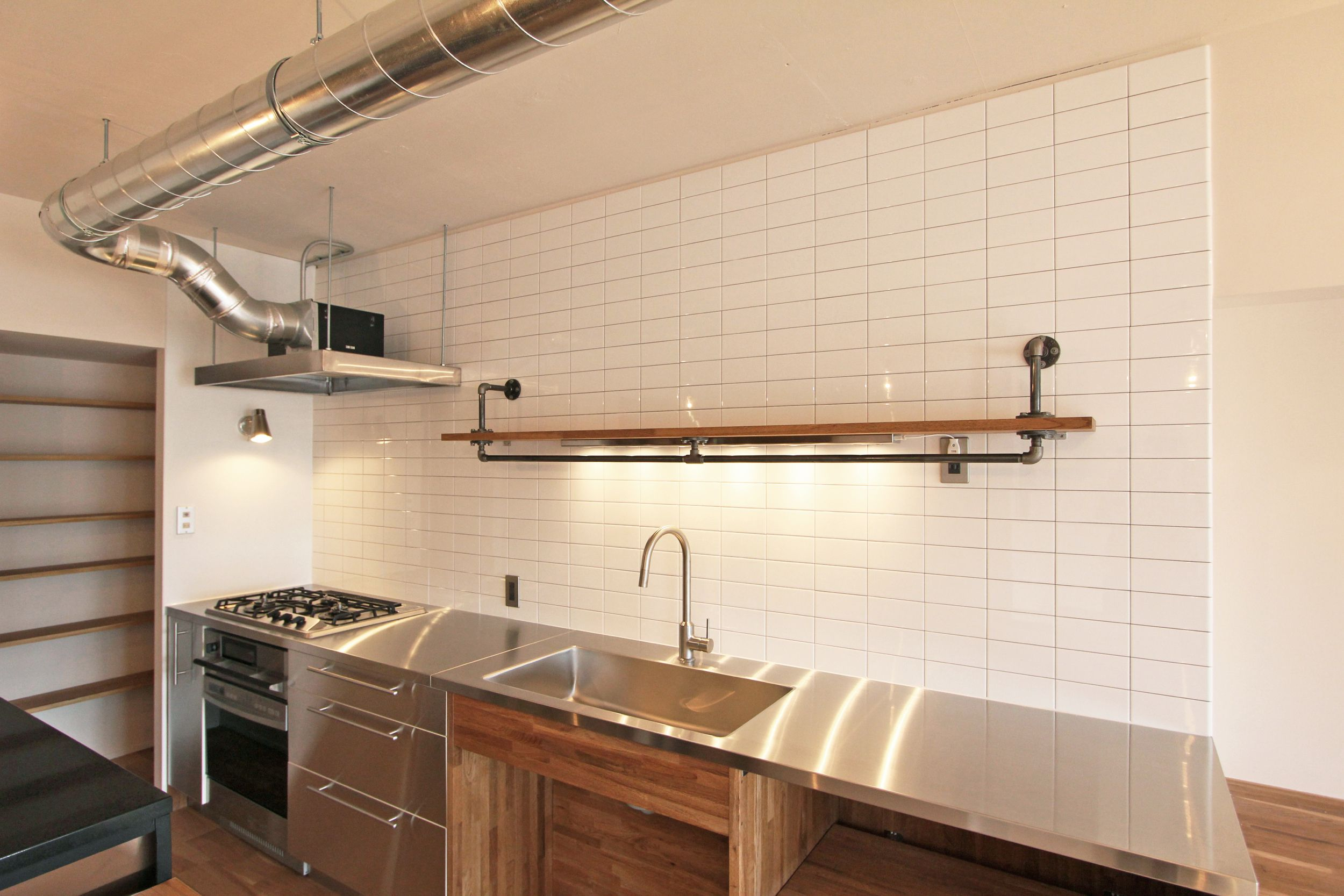 KITCHEN/counter/tile/pantry/tile/キッチン/タイル/パントリー ...