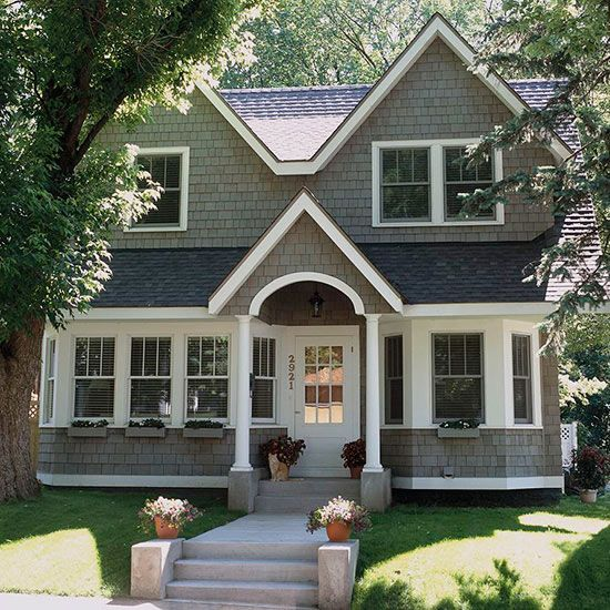 197addacf94bf1e1c96b567a36872fc2 And A Half Story Home Facades Designs on 3-story homes, craftsman bungalow style homes, half brick half siding homes, log cabin siding for homes,