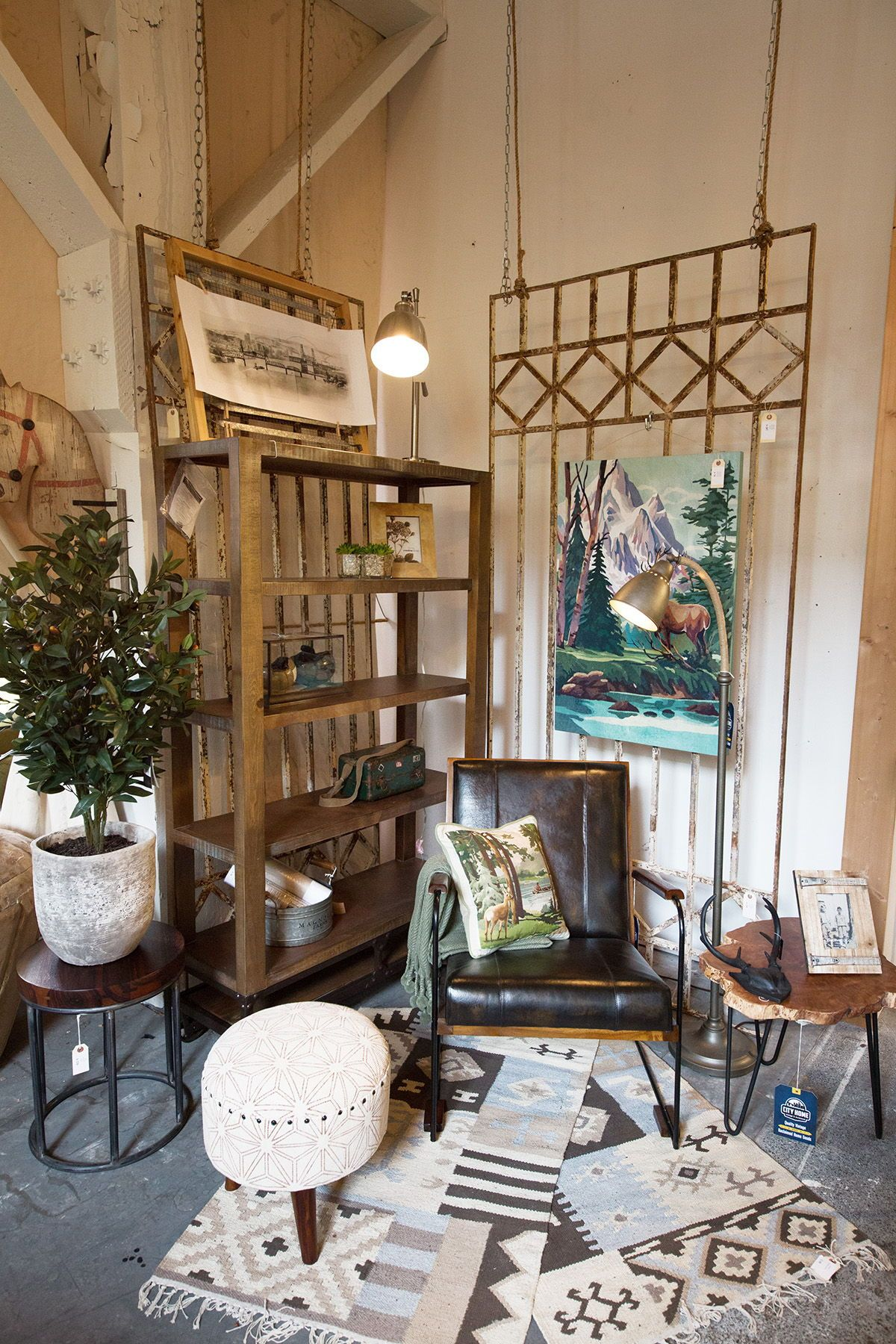 Pacific Northwest Home Decor And Furniture Vibes At City Home In Portland Oregon Home Decor Affordable Living Room Furniture Home Furniture