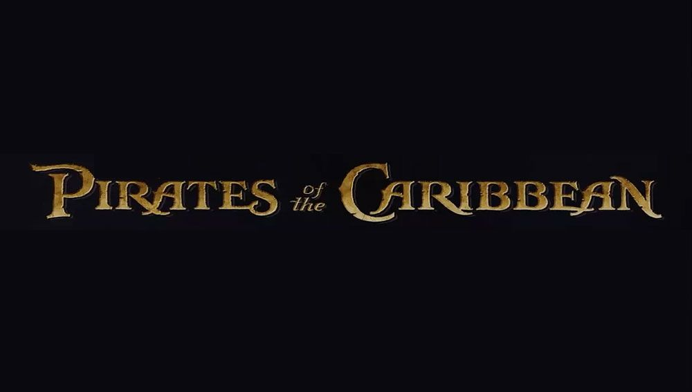 Pirates Of The Caribbean Font Beach Fonts Pirates Of The Caribbean Summer Font