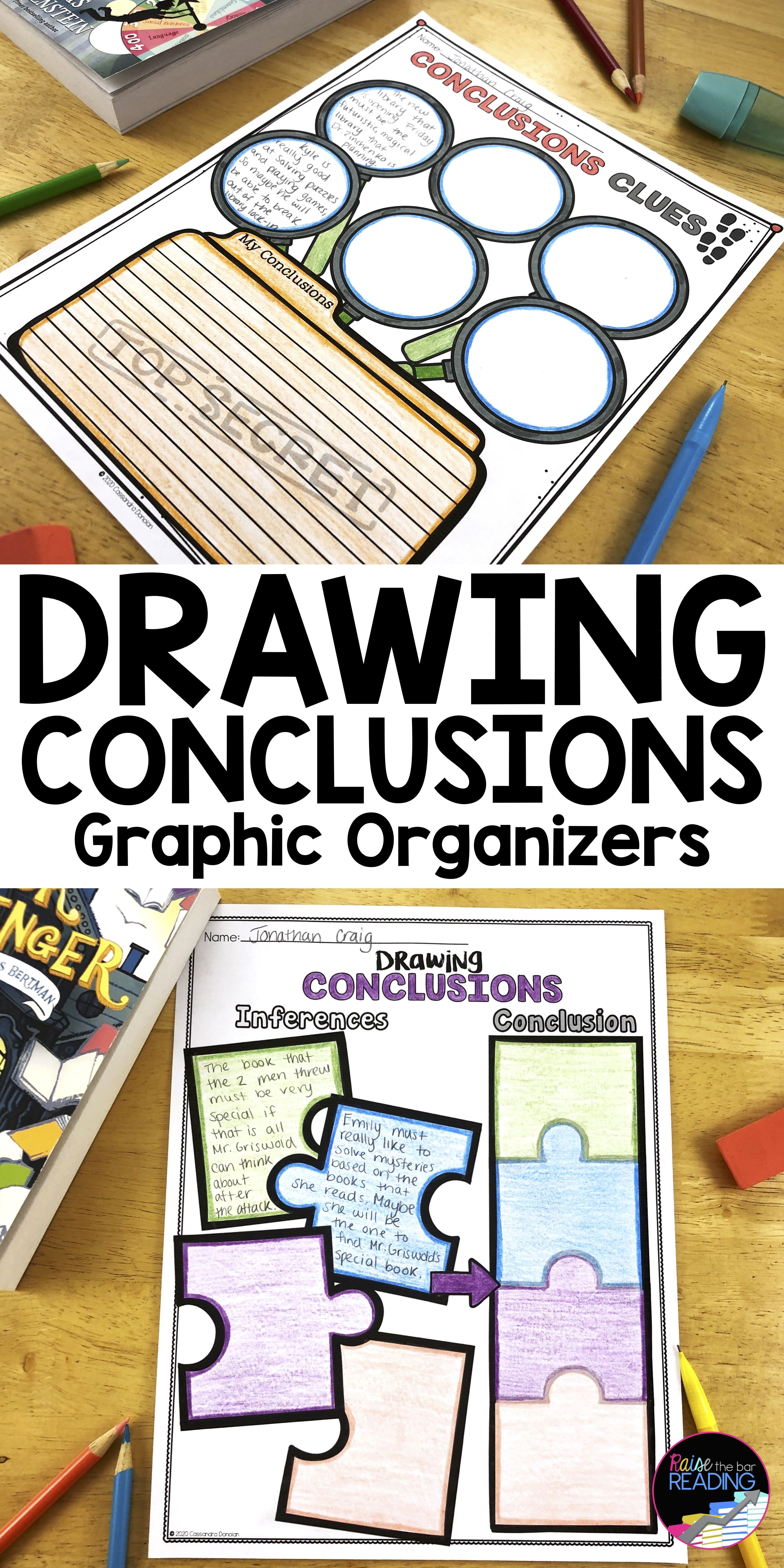 Drawing Conclusions Graphic Organizers Drawing Conclusions Activity Drawing Conclusions Anchor Chart Drawing Conclusions [ 5400 x 2700 Pixel ]