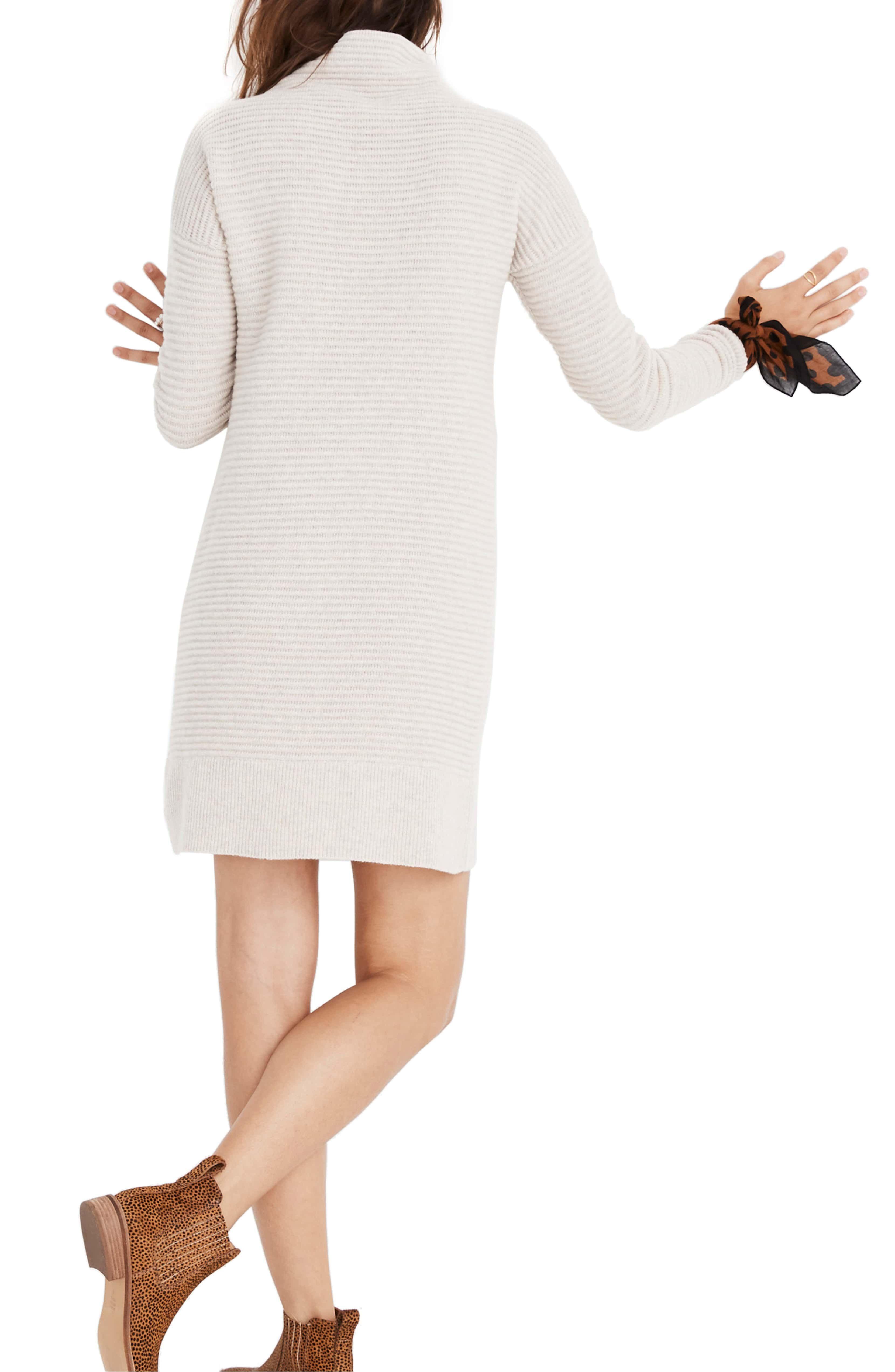 Skyscraper Merino Wool Sweater Dress, Alternate, color