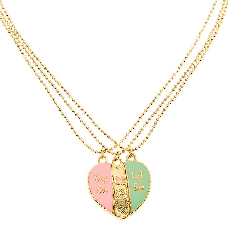 Best friends mother and daughters split heart pendant necklaces my best friends mother and daughters split heart pendant necklaces aloadofball Gallery