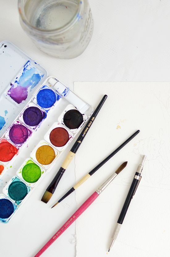 Tutorial-How to get the most out of your watercolors. | Art ...
