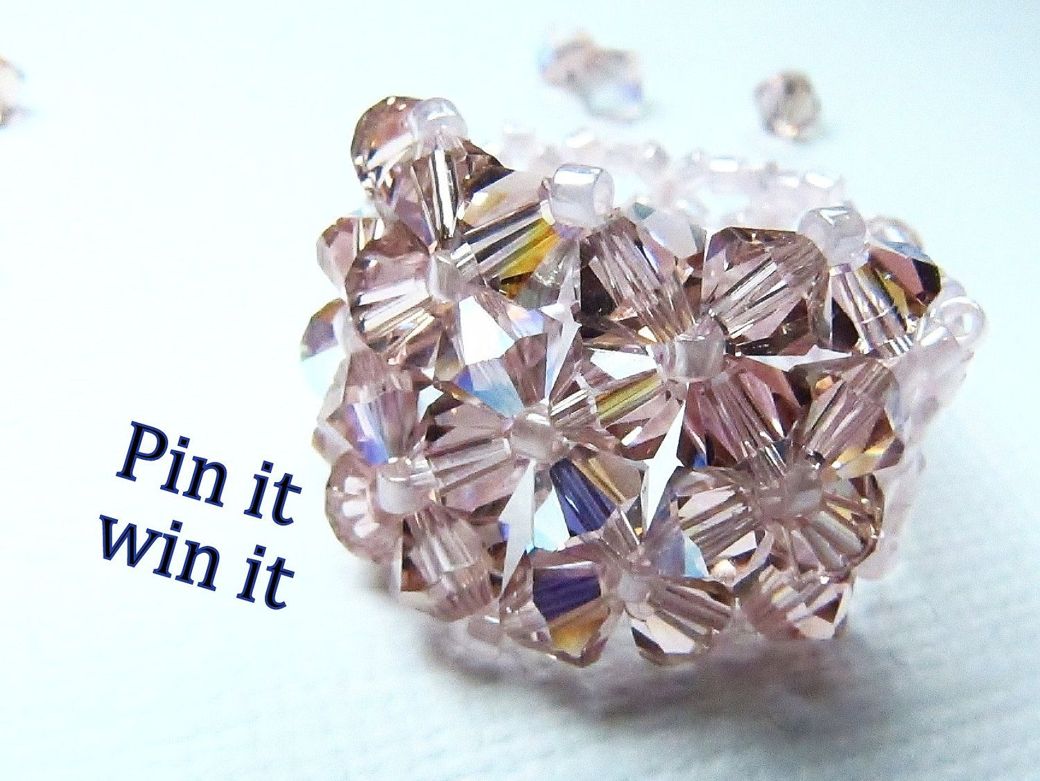 DeBella Pin it Win it!! DeBella Swarovski stretch ring REPIN DEADLINE: Sept 1 2012 10PM EDT FOR EVERY PERSON WHO REPINS OFF YOURS, COUNTS AS AN EXTRA ENTRY FOR YOU! www.etsy.com/shop/cissdena