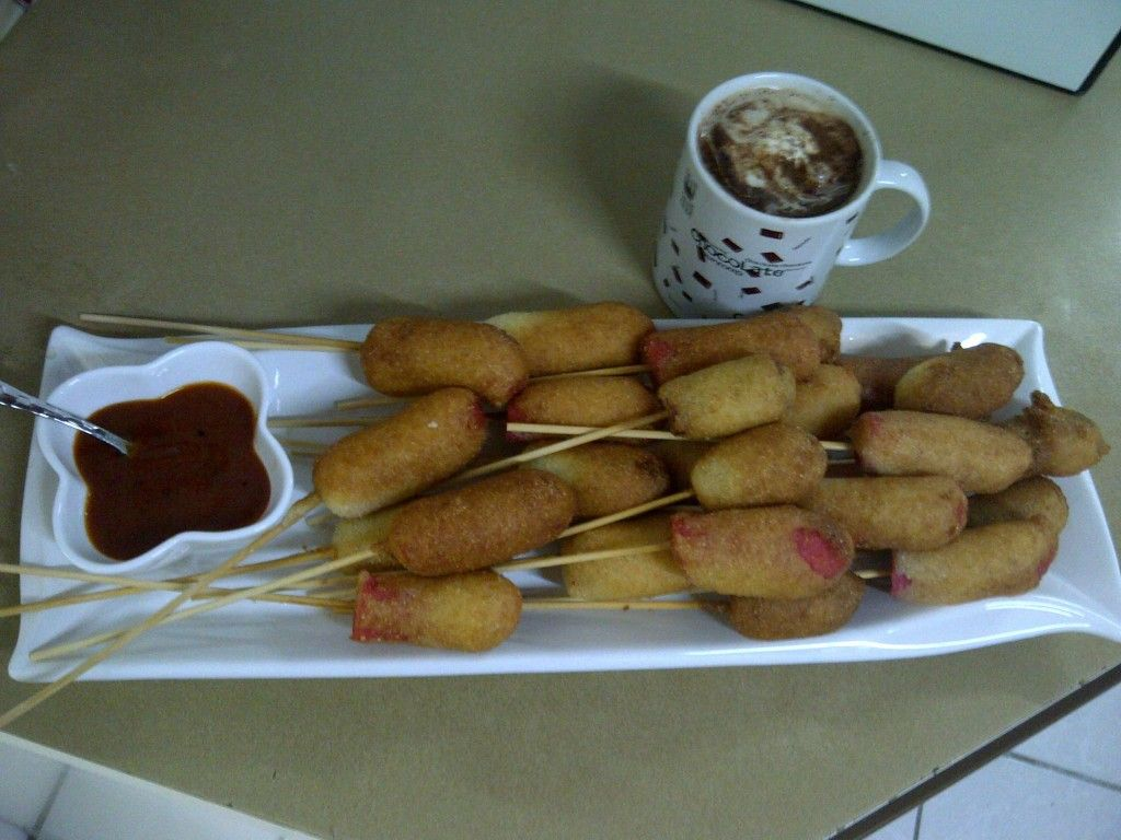 Halaal South African Corn dogs