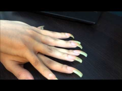 ASMR :: Tapping With Bare My Long Natural Nails | Sees Nails ...