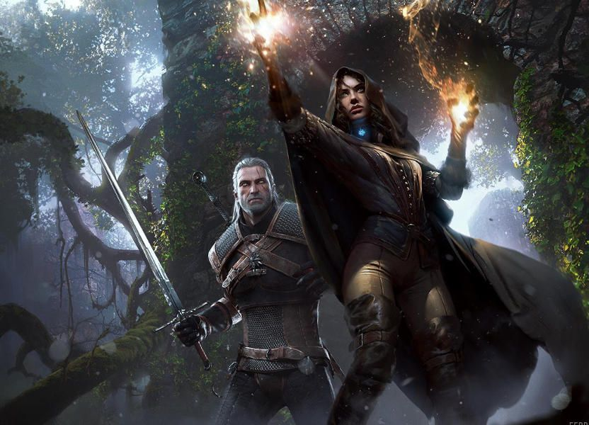 Yennefer Promotional Art Look At The Witcher 3 Nexus Mods And Community