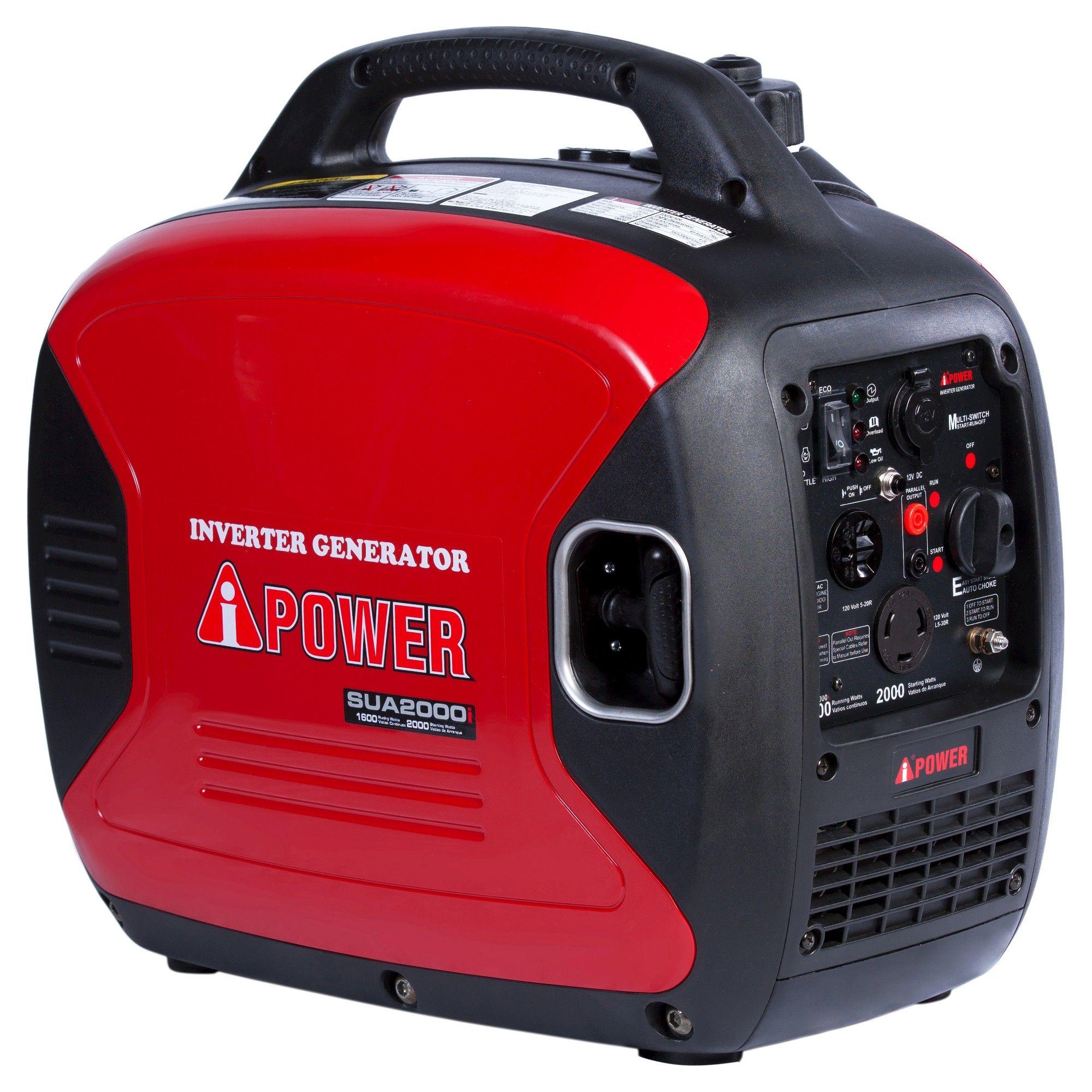 2000 Watt Ultra Quiet Gasoline Powered Inverter Portable Generator