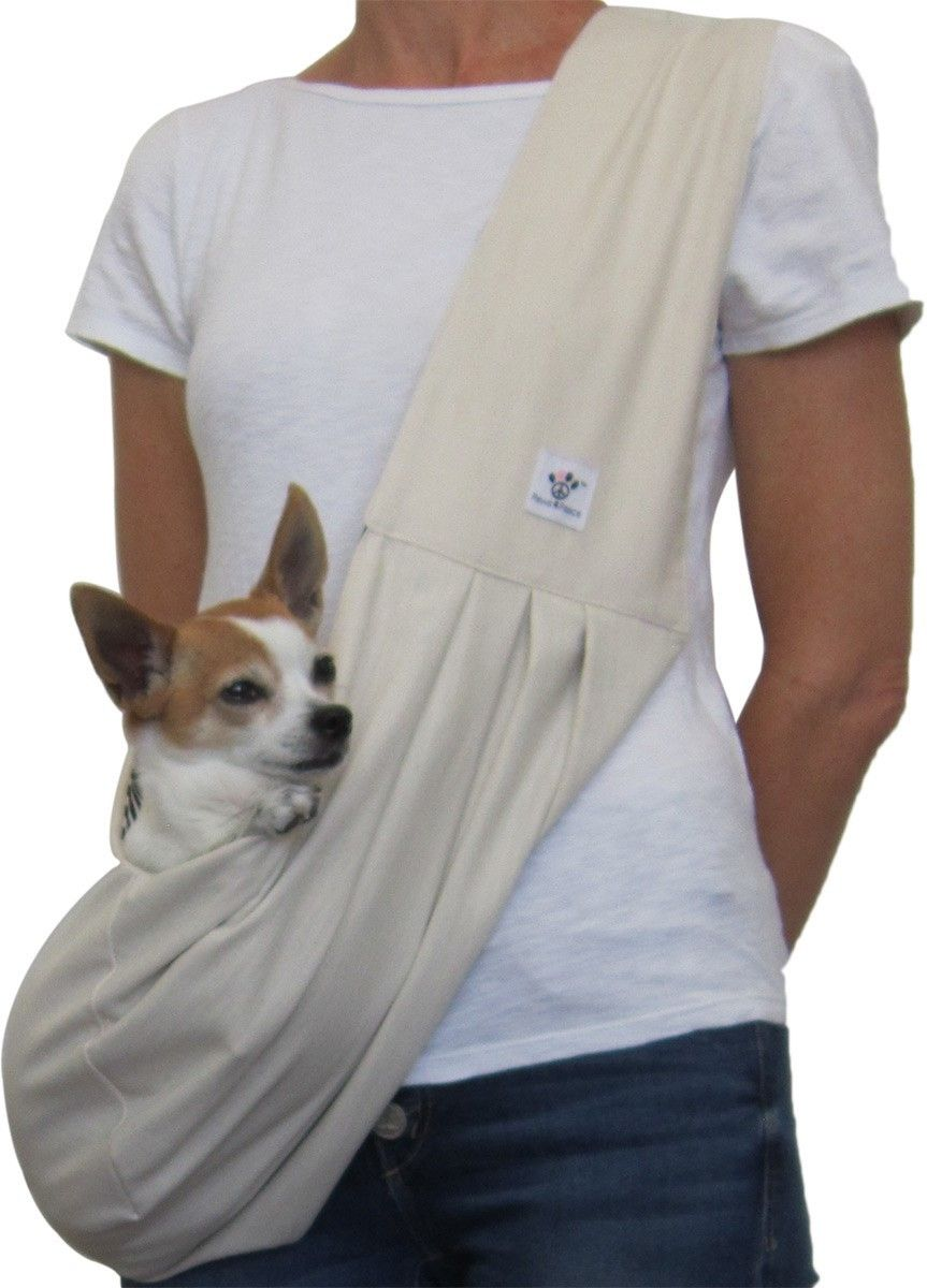 Dog Sling Cotton Cream Dog Sling Dog Beds For Small Dogs Dogs