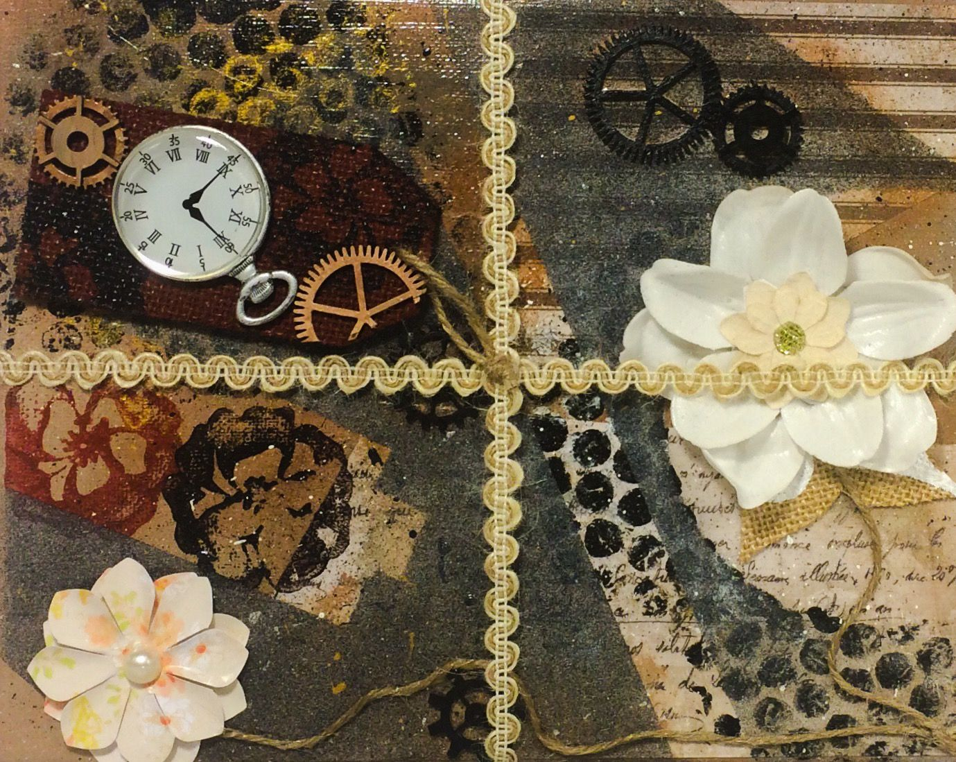 """""""Time is a gift"""" AVAILABLE NOW @ www.differentlycreated.com"""