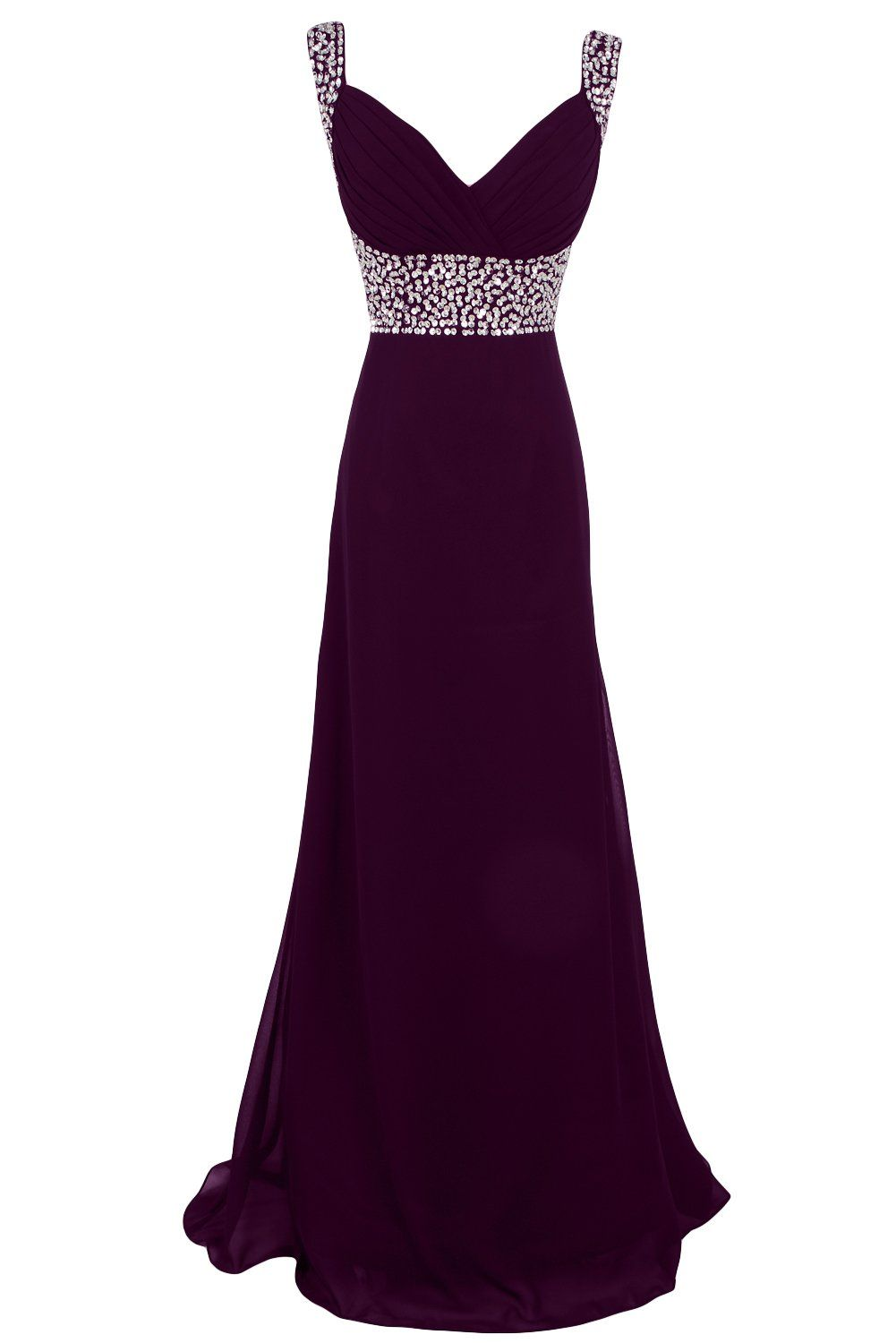 Sunvary sequin chiffon bridesmaid dresses evening prom gowns long