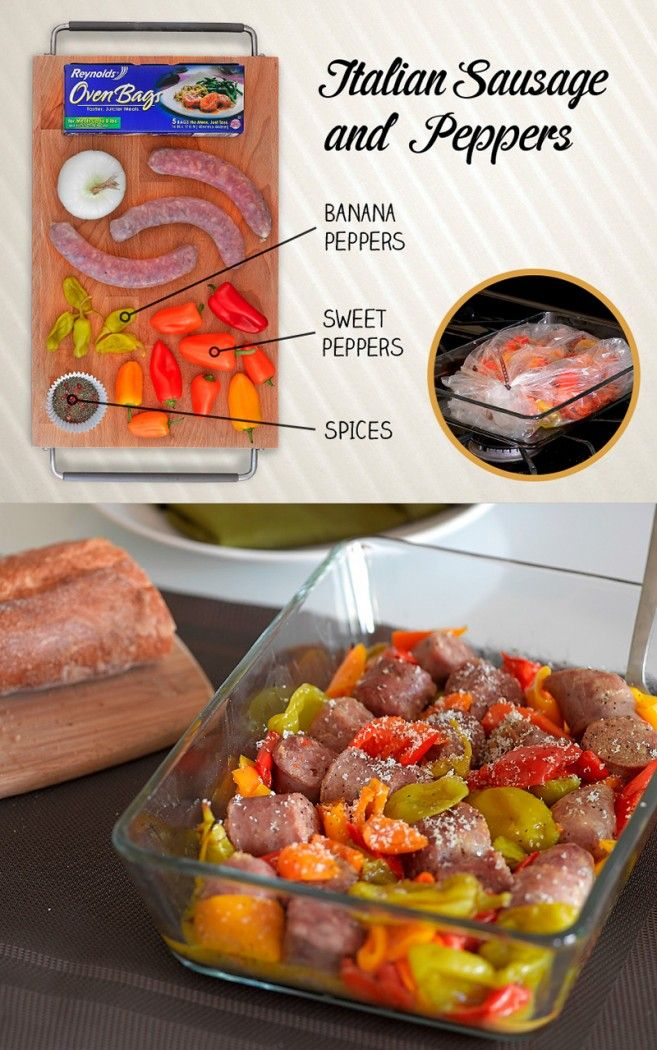 Easy Oven Bag Meals | Reynolds Kitchens | Recipes to Cook ...
