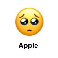 Meaning Of Pleading Face Emoji Emoji Emoji Design Emoji Faces
