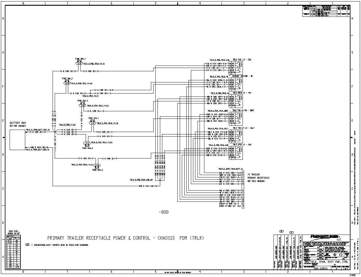 Freightliner Chassis Wiring Diagram Elegant In 2020 Diagram Freightliner Radio