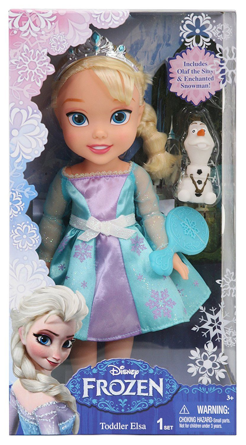 Disney Frozen Elsa Toddler Doll Amazon.co.uk Toys