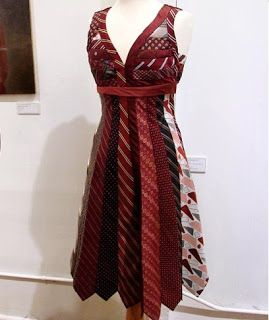 Fashion and Art Trend: Cool Necktie Dress