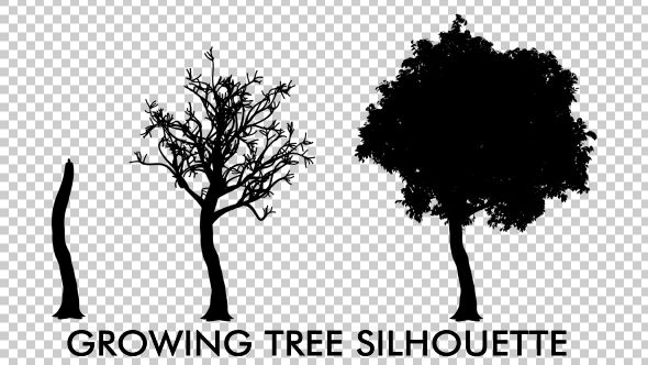 Growing Tree Silhouette Animation Tree Silhouette Growing Tree Animation You can now start adding some shadows on the tree as shown below. growing tree silhouette animation