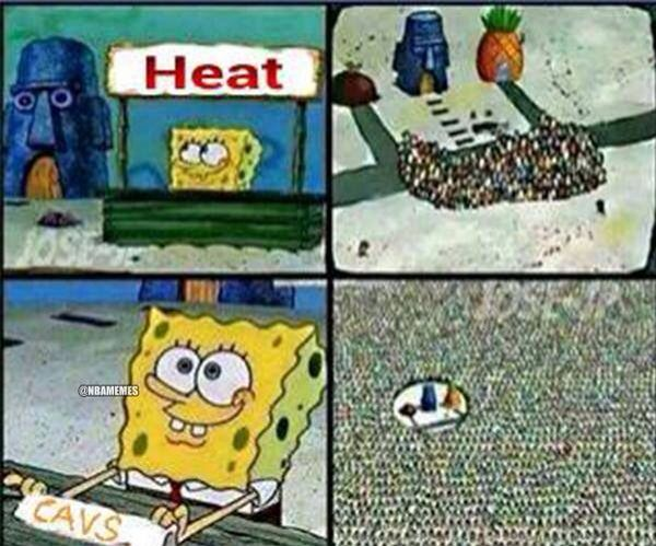 Heatcavaliers Bandwagon Explained With Spongebob Spongebob