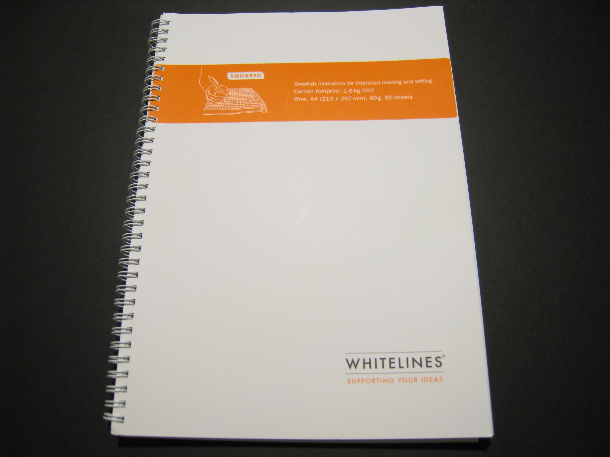 Whitelines Graph Paper Notebook Wired A4 Review | Technology ...