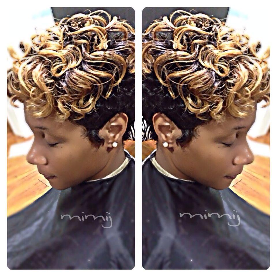 short hair for african american women | black | short
