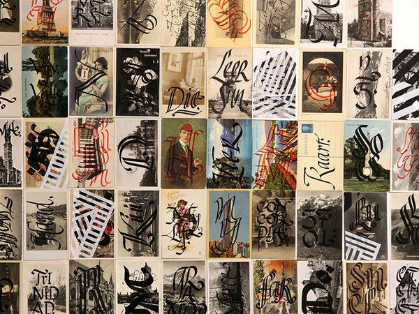 Caligrafia & Tipografia Experimental com Yomar Augusto   IdeaFixa   ilustração, design, fotografia, artes visuais, inspiração, expressão