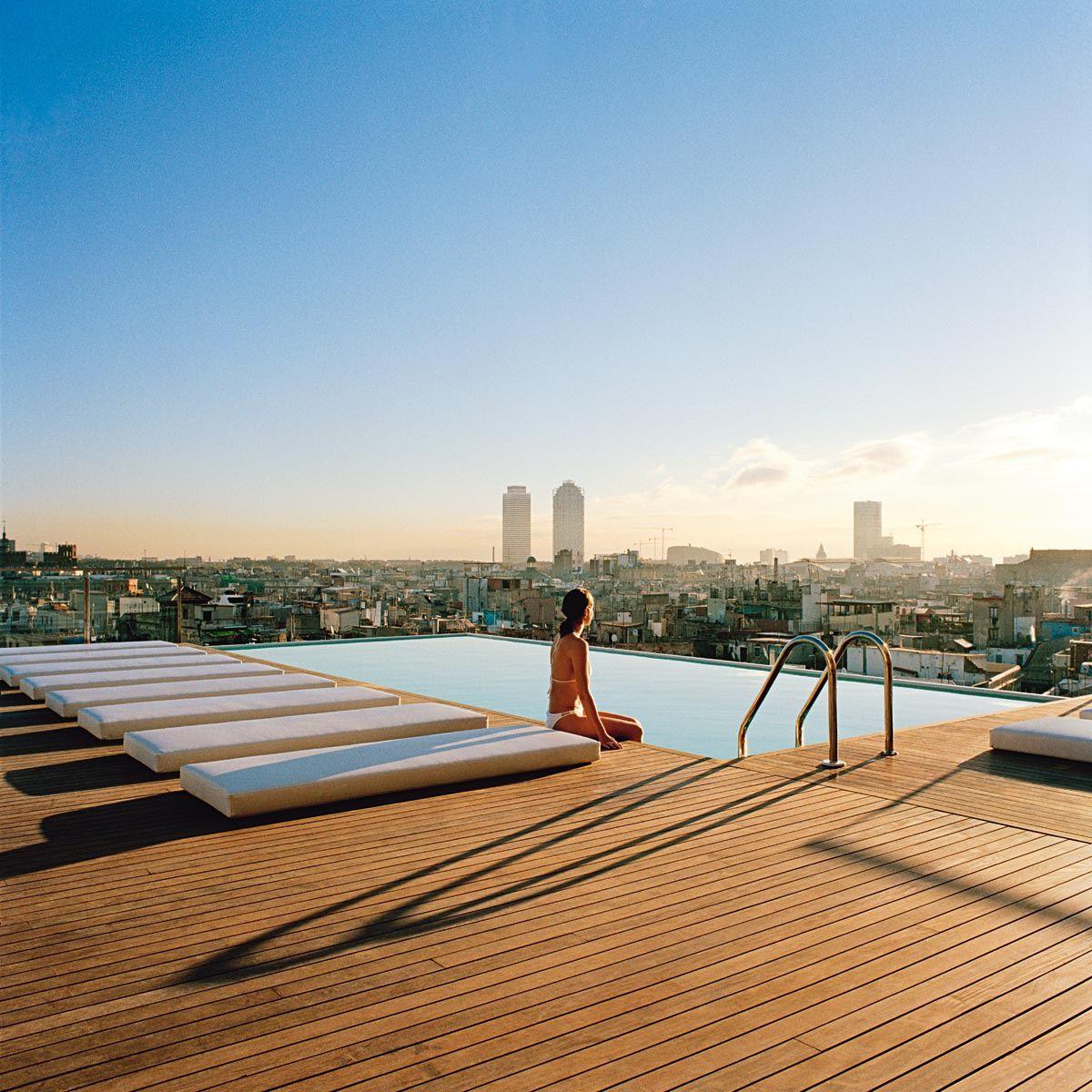 Una De Terraceo Por Favor Barcelona Hotels Rooftop Pool