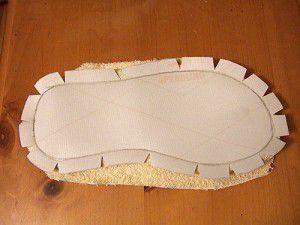 como hacer pantuflas reciclando 19
