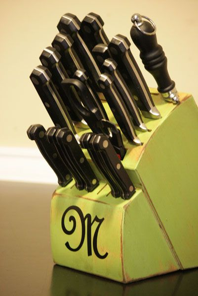 Upgrade your old knife block from boring to fantastic!