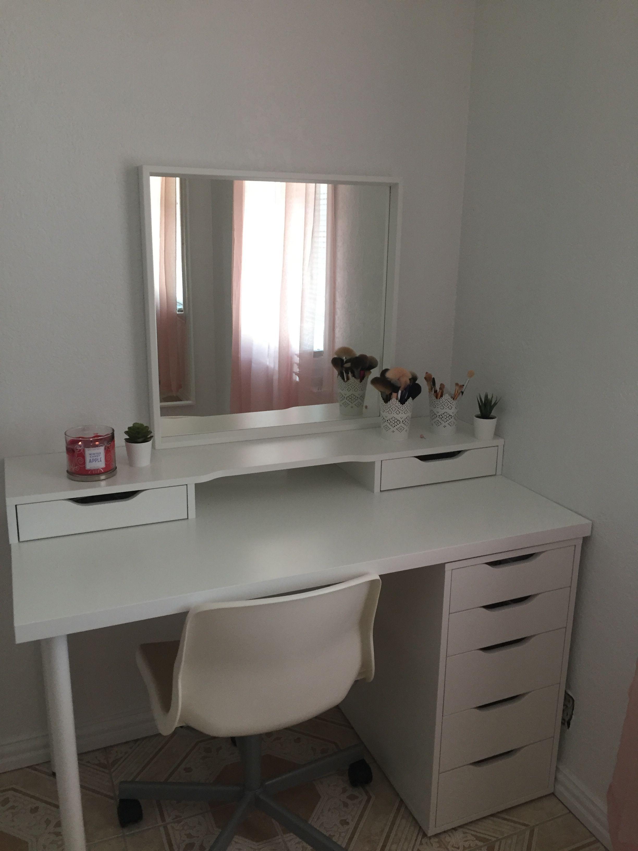 Photo of Lavagna con idee ideali per la stanza del trucco che hai mai visto, con la superficie della …