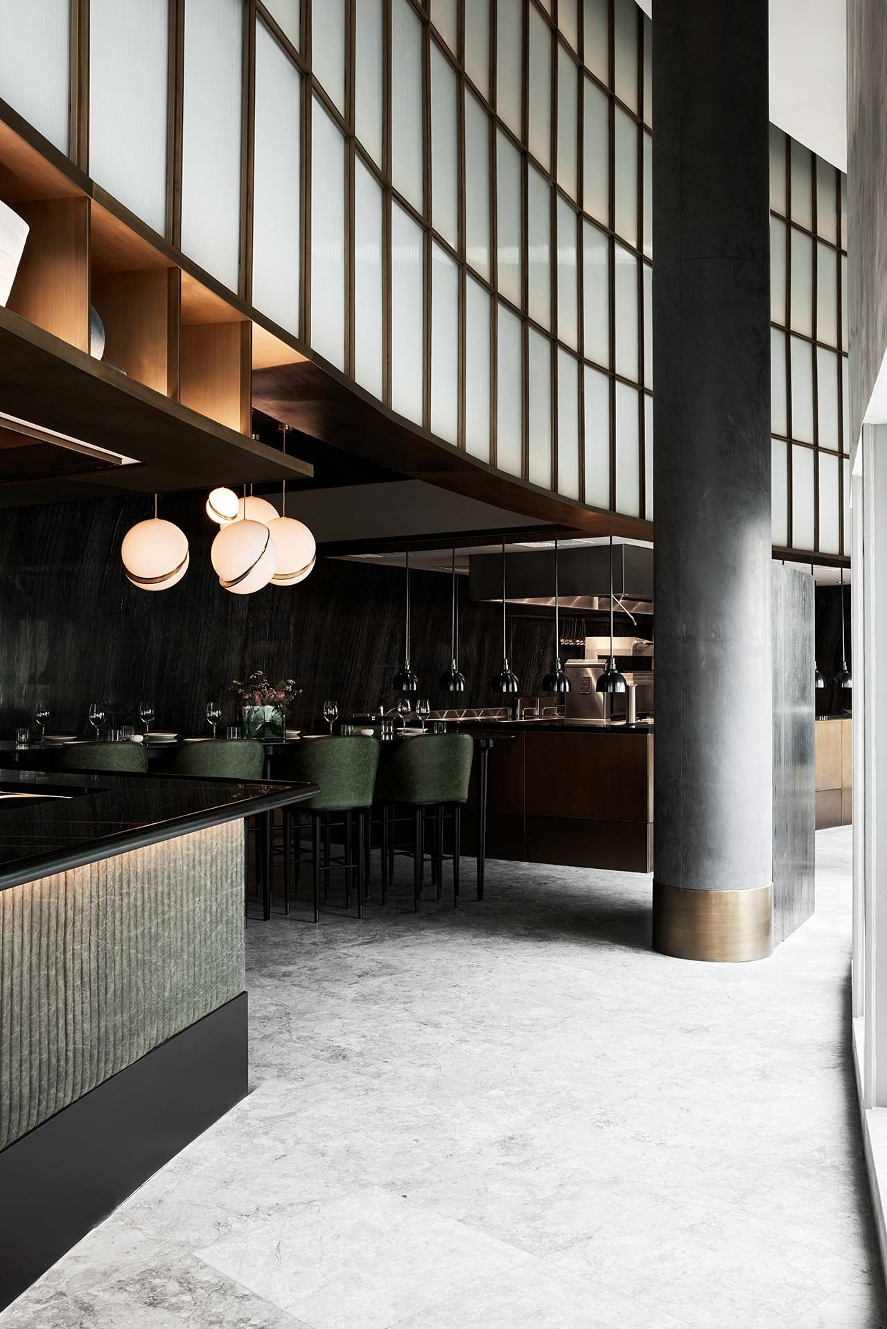 Sean Connolly at Dubai Opera | Opera, Restaurants and Interiors