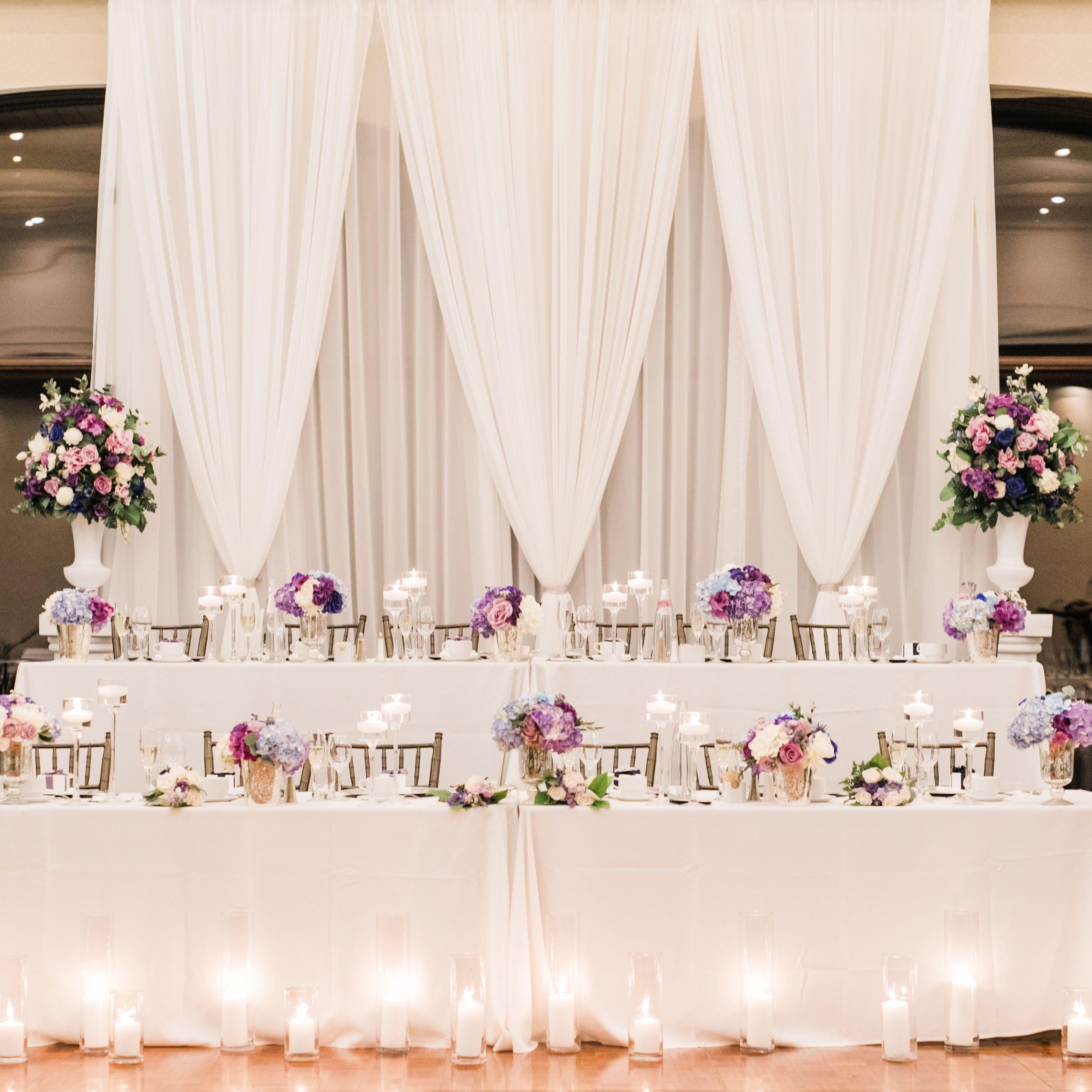 Antonette White Ivory Sheer Drapery Backdrop Rental Rental Vintagebash Wedding Wedding Backdrop Rentals Wedding Decorations