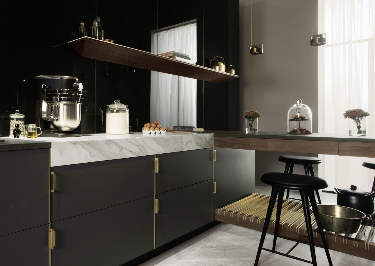 Poggenpohl - The Fourth Wall Concept | My Kitchen | Pinterest
