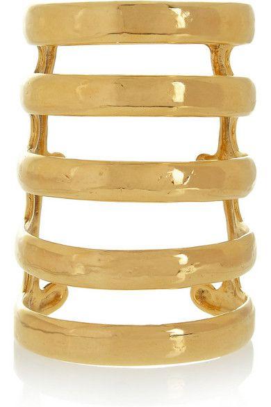 Aurélie Bidermann gold-plated cuff