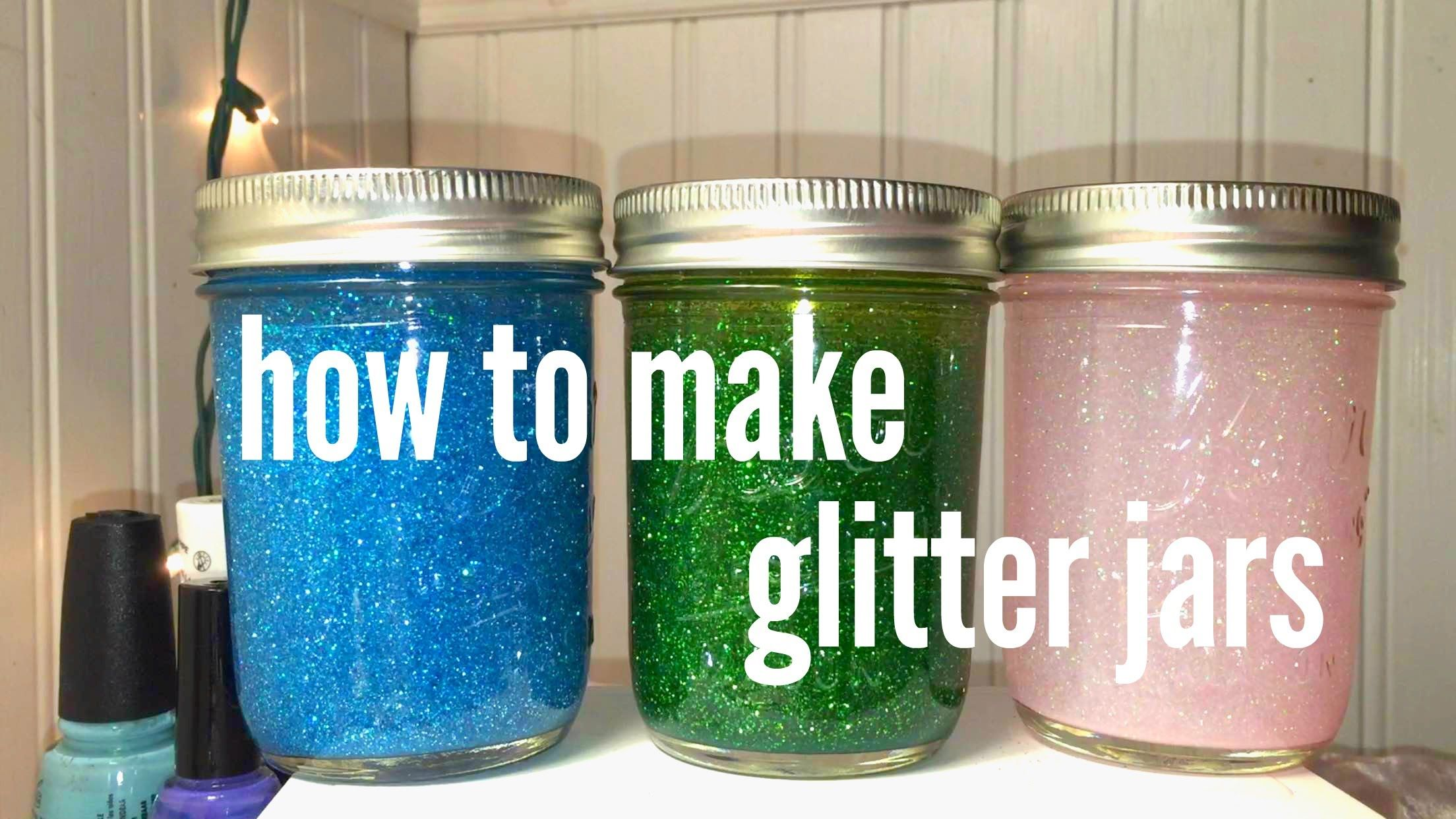 Watch How to Make Glitter video