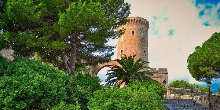 Bellver Castle, Mallorca, Balearic Island, Mallorca